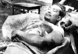 Muso usai ditembak mati TNI (sumberfoto: hastamitra.org)