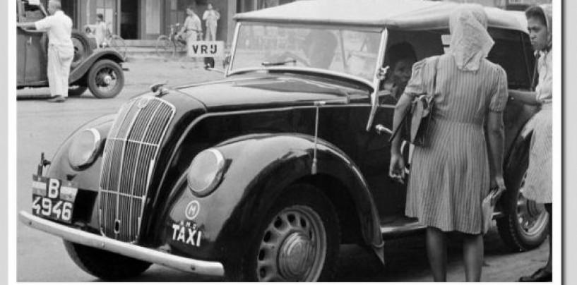 Riwayat Taksi Tempo Doeloe