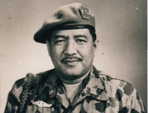 LETJEN MARINIR HARTONO. Loyalitasnya kepada Soekarno tak diragukan. (foto:dokumenpribadi/milik keluarga besar Hartono)