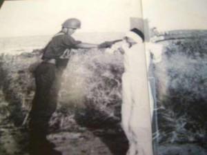 Kartosoewirdjo saat dieksekusi di Pulau Ubi (dok pribadi Fadli Zon)