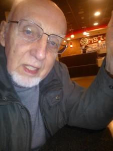 Piet 2014. Piet saat diambil fotonya oleh jurnalis senior Aboeprijadi Santoso di Belanda pada Februari lalu (foto: Aboeprijadi Santoso)
