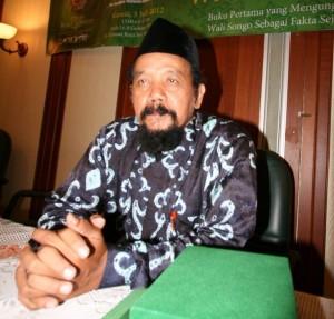 Sejarawan Agus Sunyoto (foto:hendijo)