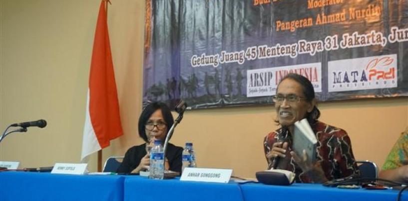 Prof. Dr. Anhar Gonggong : Kita Amnesia Sejarah, Pancasila Masih Sebatas Slogan