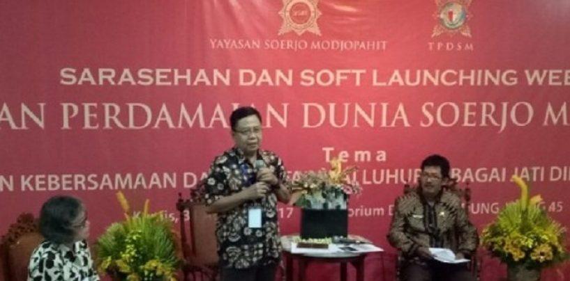 Website Wisata Sejarah Majapahit Diluncurkan