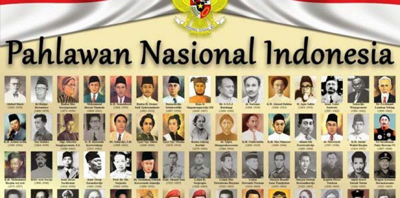 Indonesia Miliki 173 Pahlawan Nasional